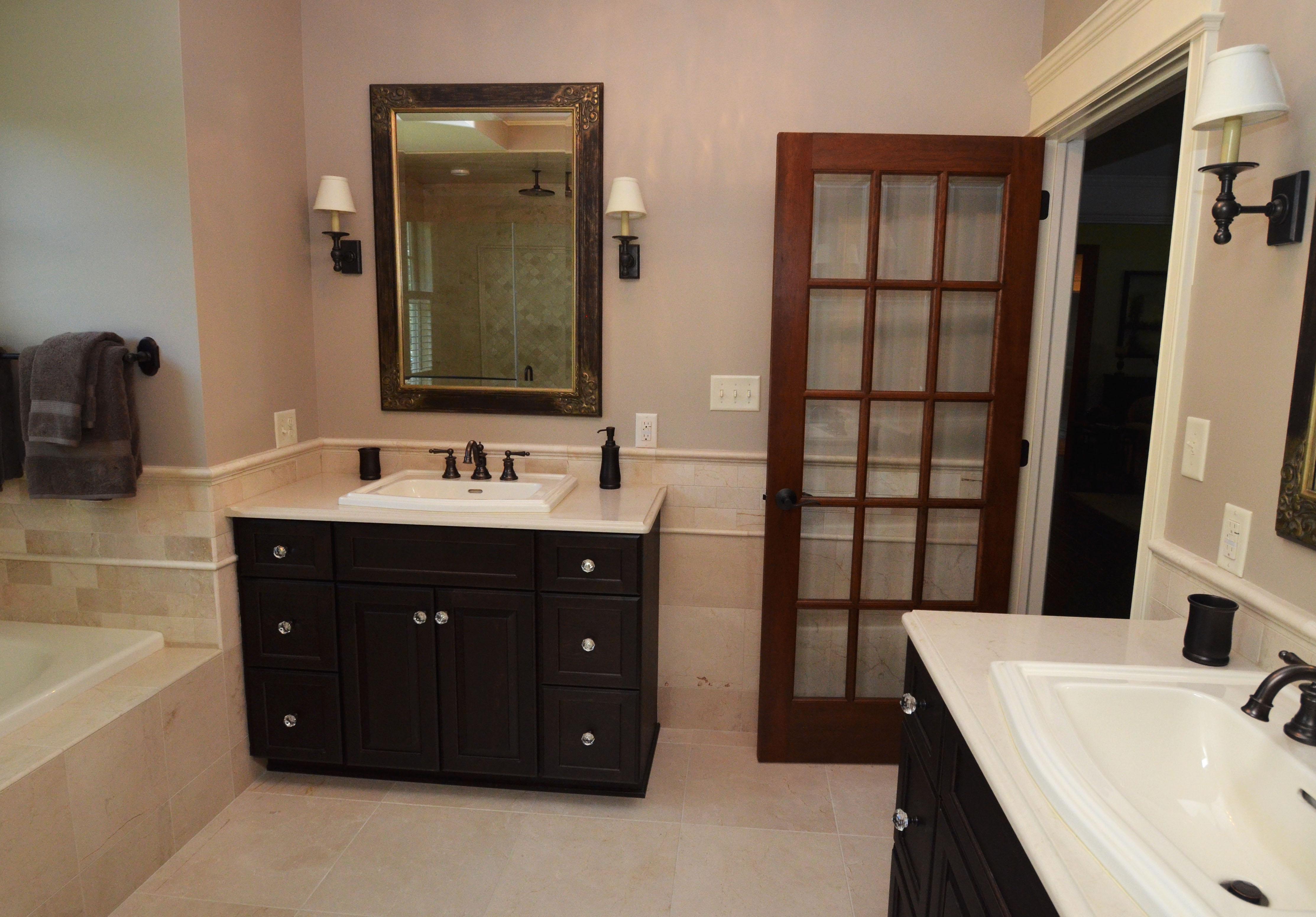 Bathroom Vanity Caesarstone Countertop - Italian Marble & Granite Inc.